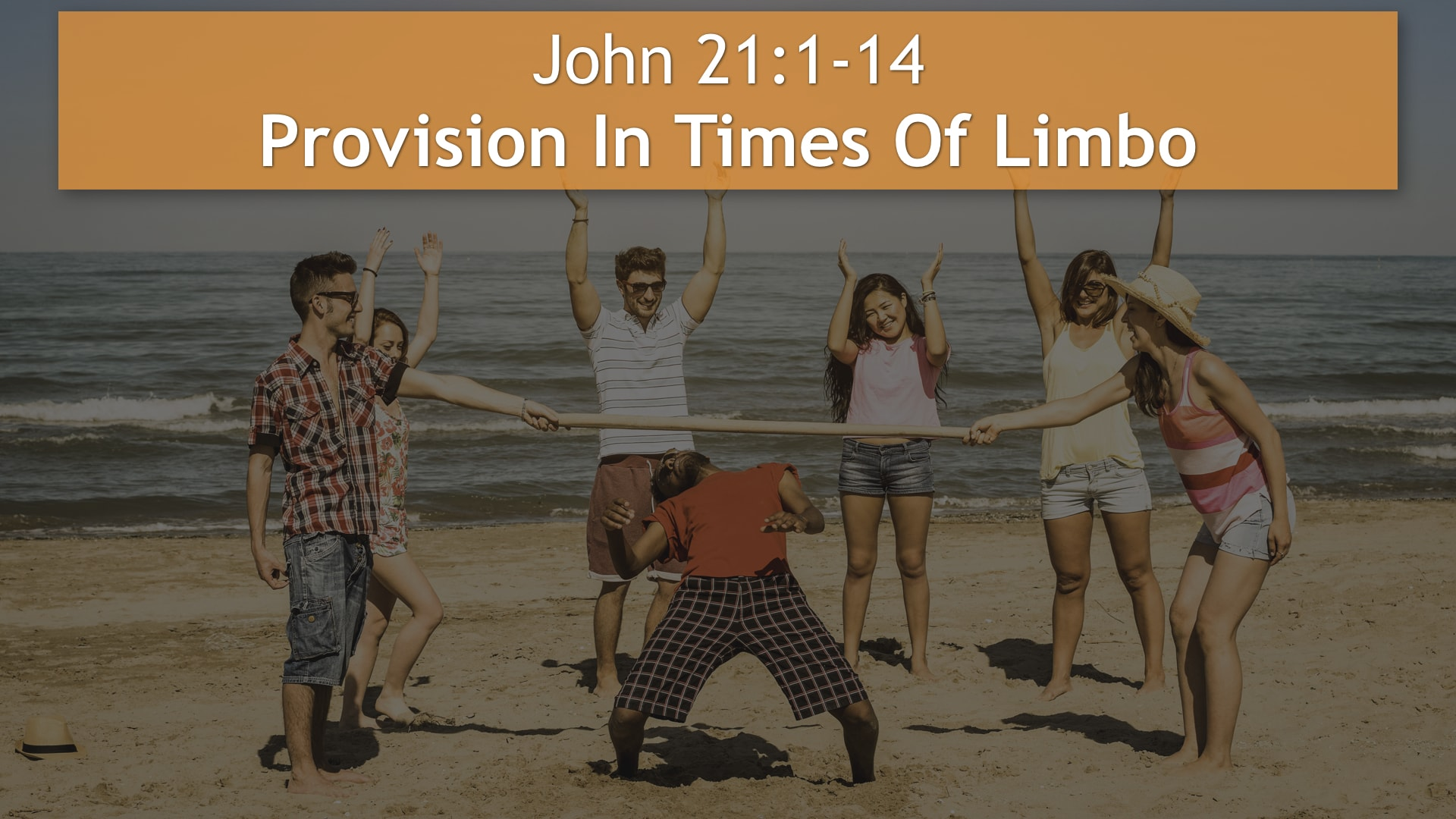 John 21:1-14, Provision In Times Of Limbo