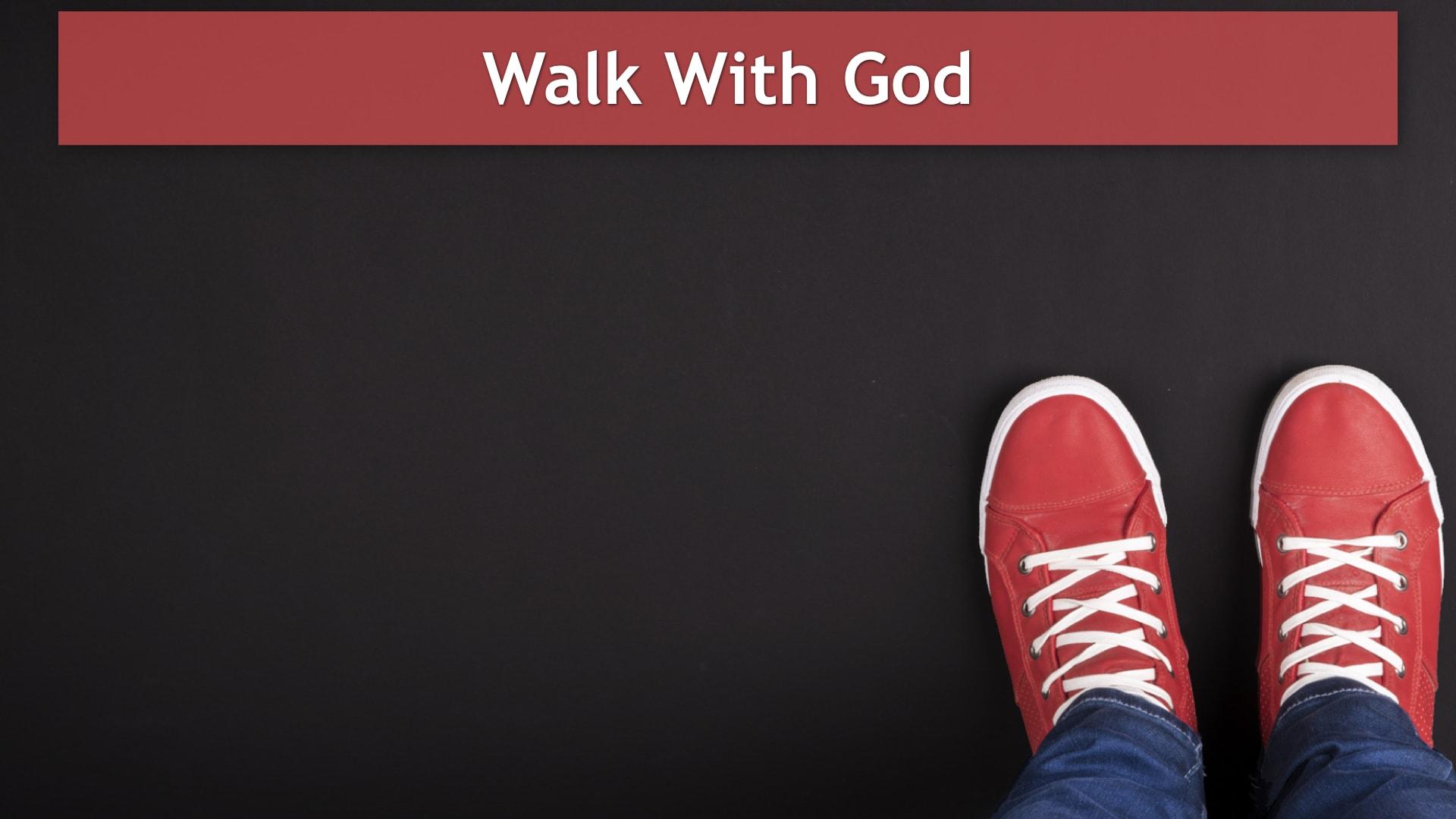 Genesis 3-6, Walk With God