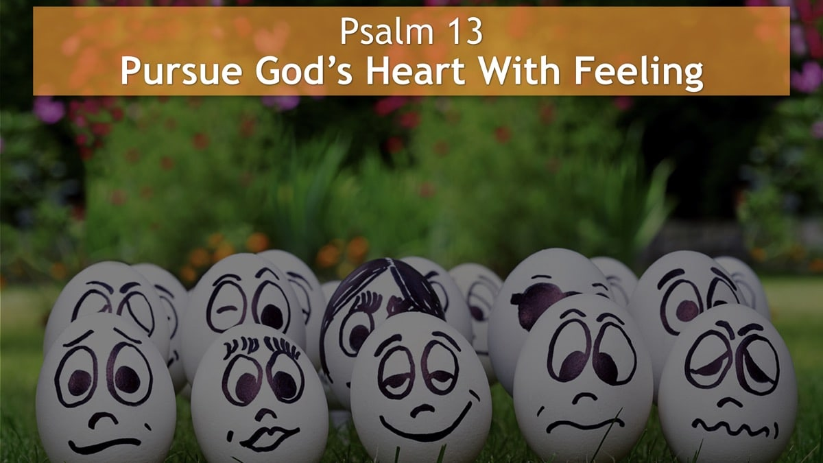 Psalm 13, Pursue God's Heart With Feeling