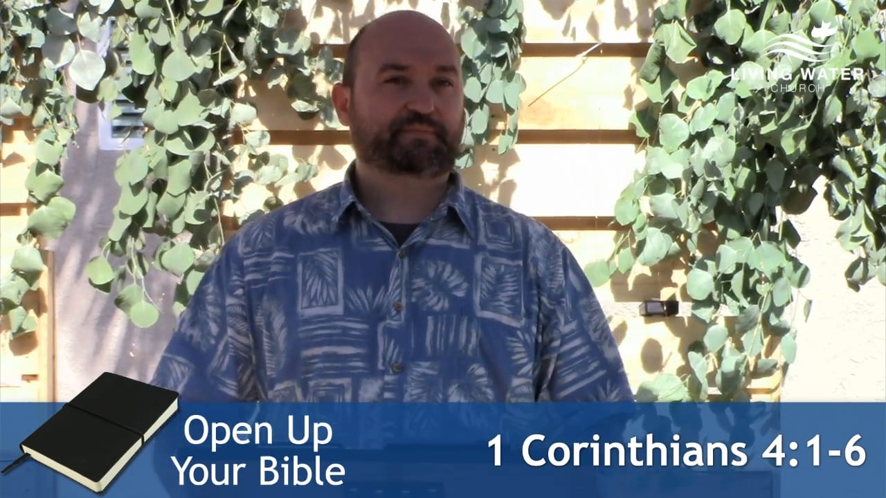 1 Corinthians 4:1-6, Learn Not To Think Beyond What Is Written