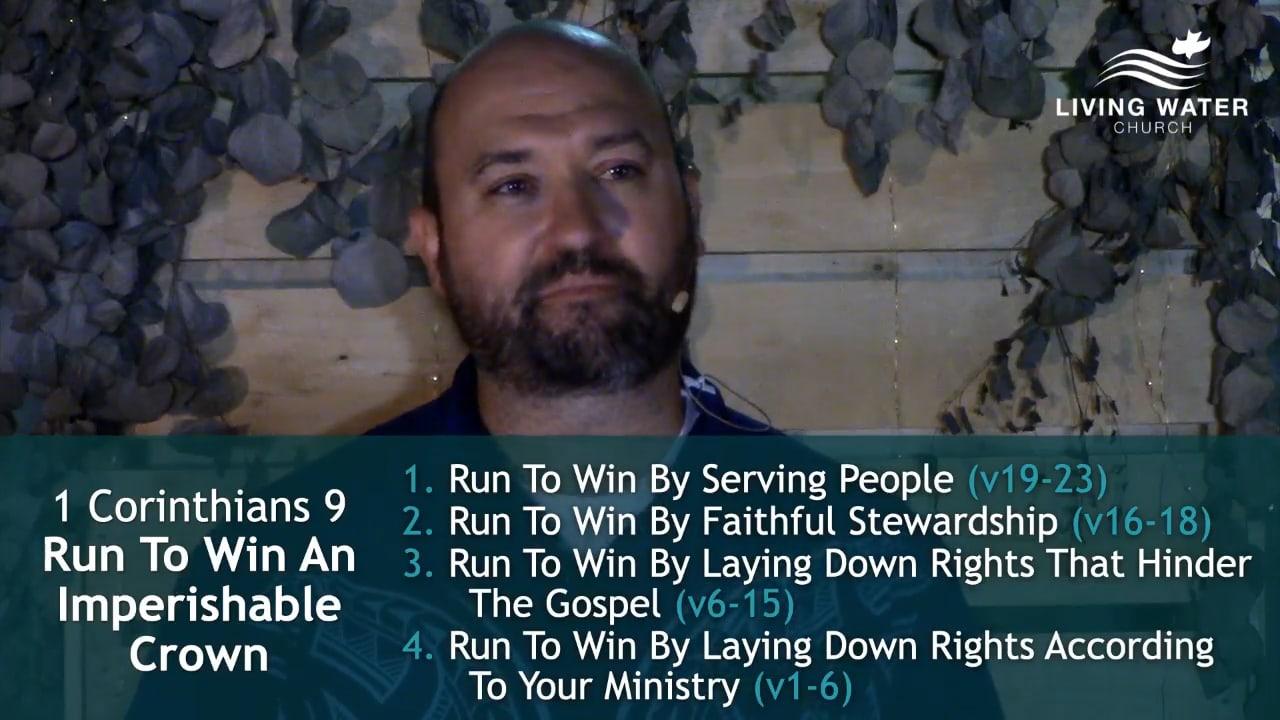 1 Corinthians 9, Run To Win An Imperishable Crown