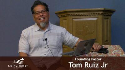 James 1 with Pastor Tom Ruiz