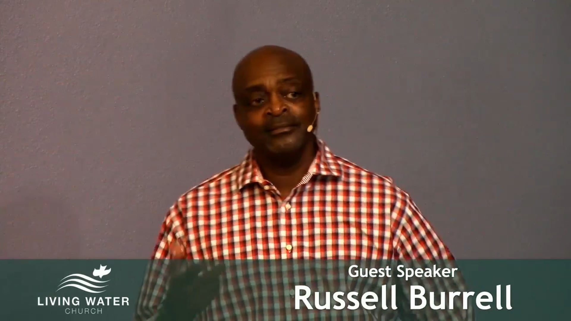 Psalm 39 with Russell Burrell