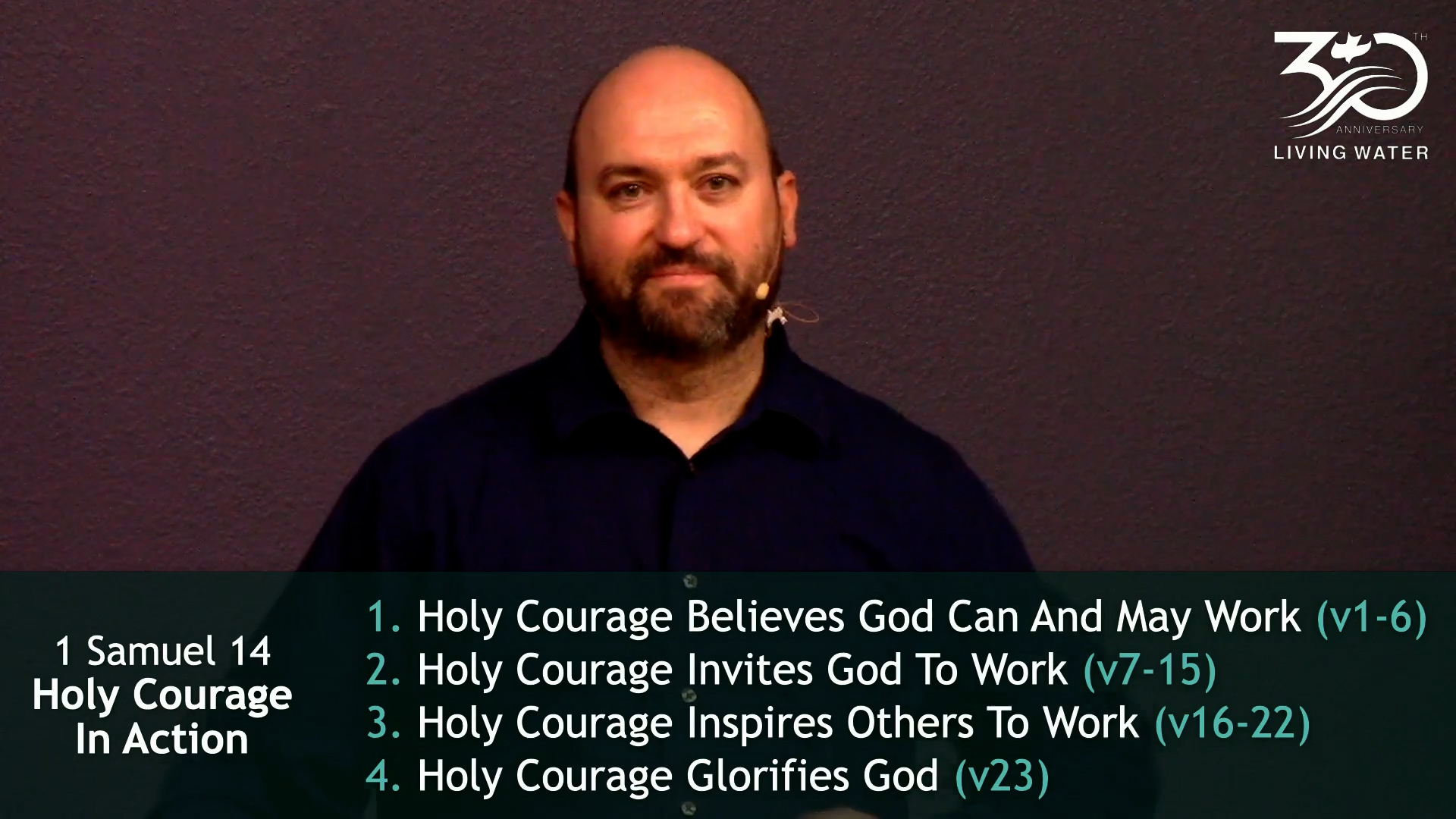 1 Samuel 14, Holy Courage In Action
